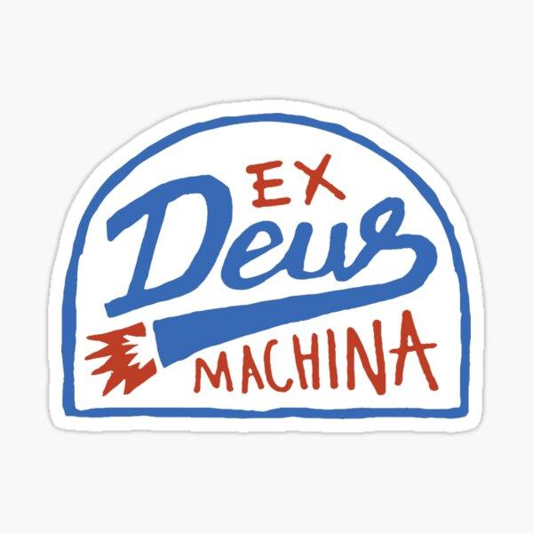 Échappement Custom Machina Sticker
