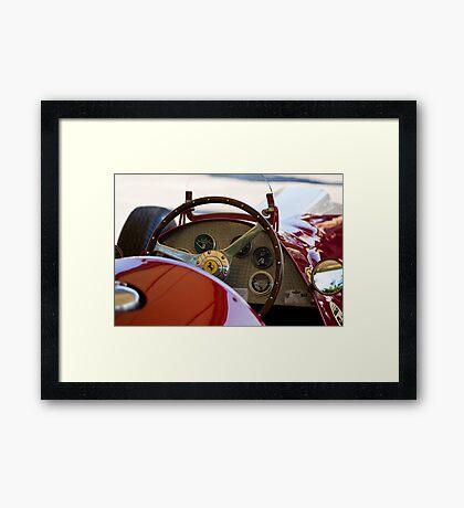 1950 Ferrari 212 F1 Interior Framed Print