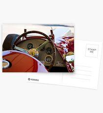 1950 Ferrari 212 F1 Interior Postcards