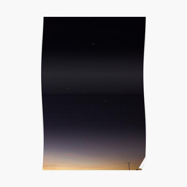 Starlight at Sunset Poster