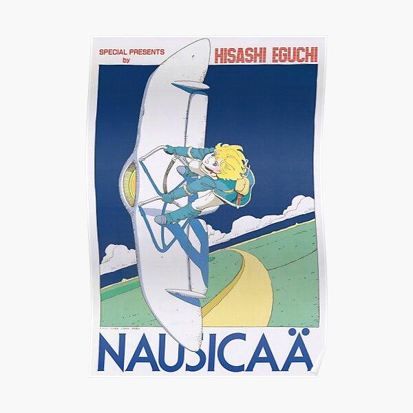 Nausicaa Glider Poster