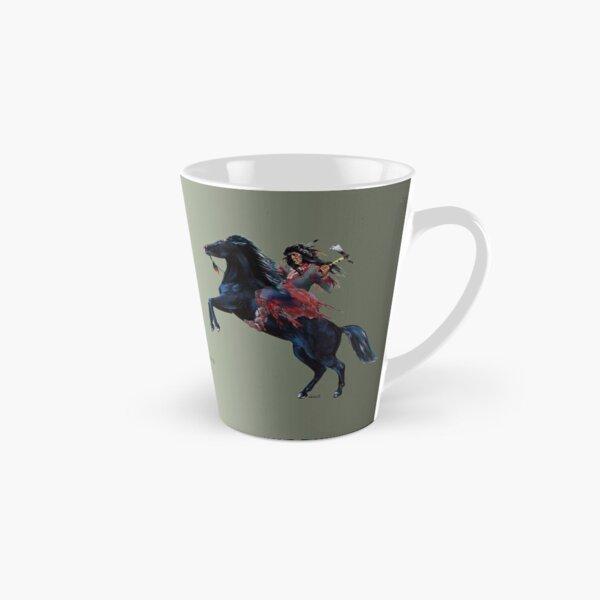 Tokvi-Kava, Black Mustang by tasmanianartist for Karl May Friends Tall Mug