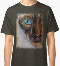 Siamese Cat Painting Classic T-Shirt