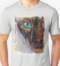 Siamese Cat Painting Unisex T-Shirt