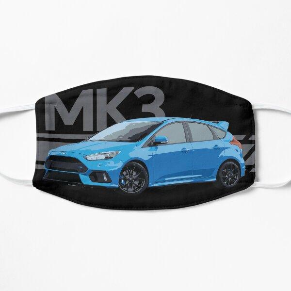Ford Focus Rs Nitrous Blue Hatch Flat Mask