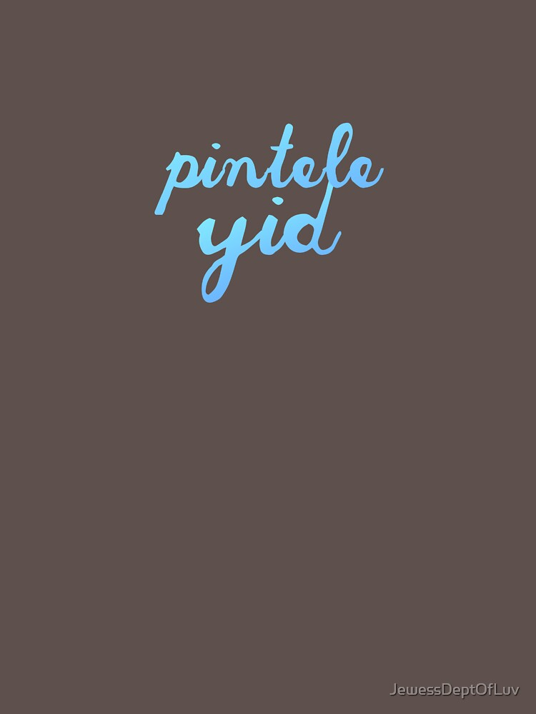 Pintele Yid [blue ombré] by JewessDeptOfLuv