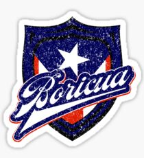 Boricua Badge Sticker