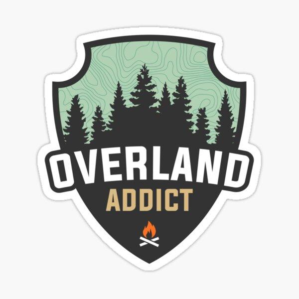 Overland Addict  Sticker