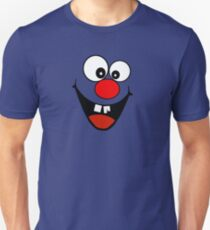 Cracked Tooth - Big Red Nose Cartoon Head Decal Kids Bag Tee T-Shirt
