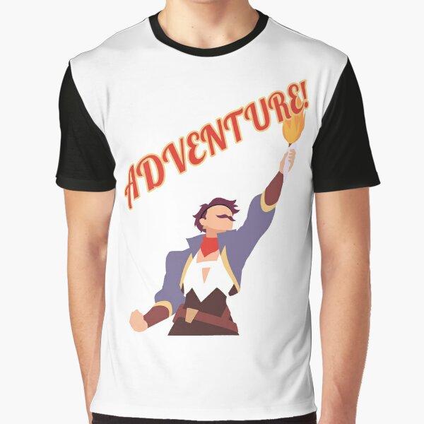 Sea Hawk Says Adventure! Graphic T-Shirt