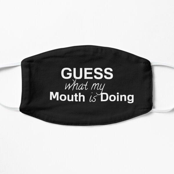 Ratet mal, was mein Mund macht Maske Flache Maske