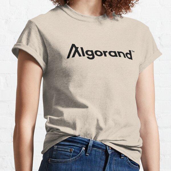 ALGO $ALGO Algorand Cryptocurrency Blockchain Crypto Coin Token Classic T-Shirt