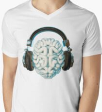 Mind Music Connection V-Neck T-Shirt