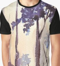 Silvery shadows in the Bluegum bush Graphic T-Shirt