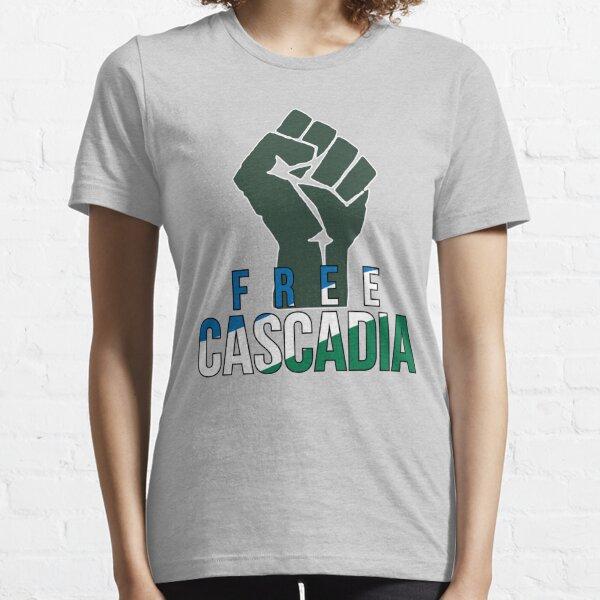 Free Cascadia! Essential T-Shirt