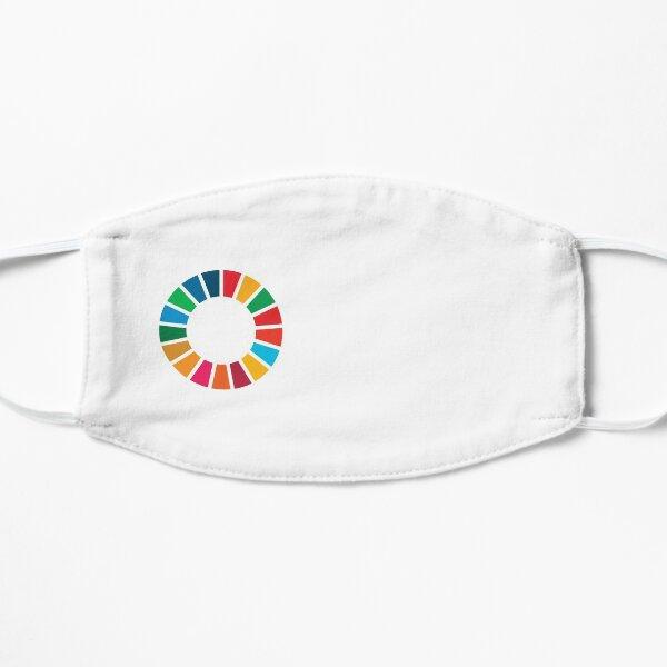 UN SDGs | UN Global Goals Logo | Ziele der Vereinten Nationen für nachhaltige Entwicklung 2030 Flache Maske
