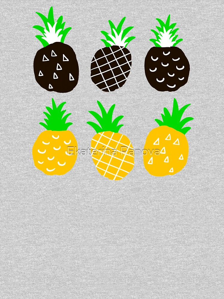 Schwarze Ananas von panova