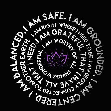 I Am Mantra by Downyart