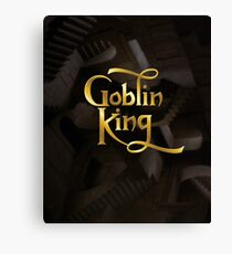 Goblin King Canvas Print