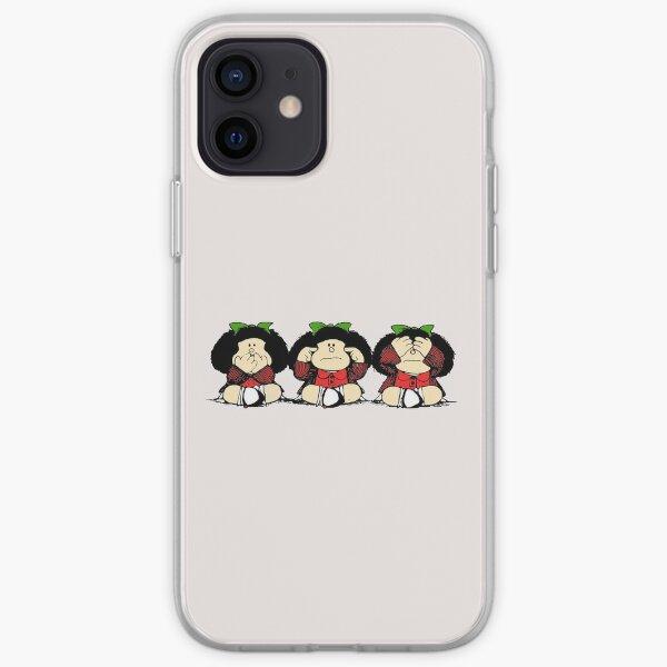Mafalda y sus gestos Funda blanda para iPhone