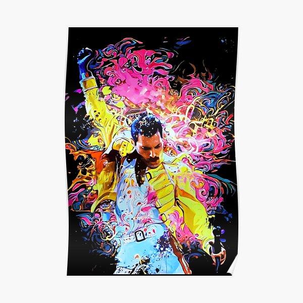 Freddie Mercury Póster