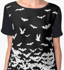 Going Batty Women's Chiffon Top