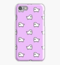 Undertale Annoying Dog - Pastel Purple iPhone Case/Skin