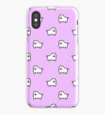 Undertale Annoying Dog - Pastel Purple iPhone Case