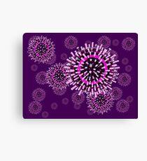 Influenza pattern Canvas Print