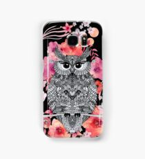 OWL & FLOWERS Samsung Galaxy Case/Skin