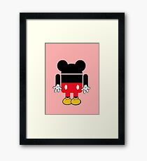Android Mickey Framed Print