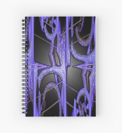 Bubblegum Abstract Art Spiral Notebook