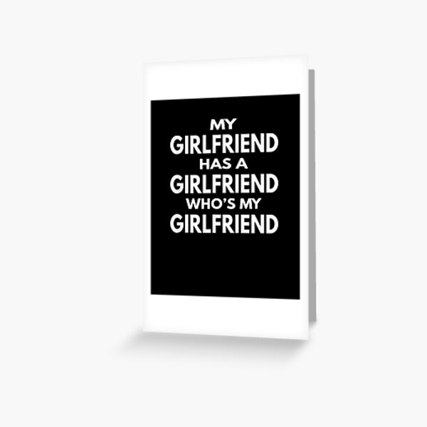 Polyamory Dating Throuple Relationship For Poly Triad Love Greeting Card