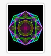 Mandala Geo Sticker