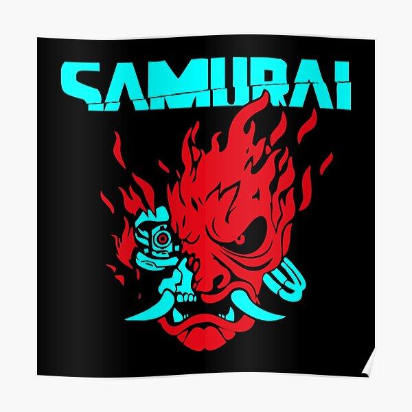 BEST SELLER - Cyberpunk 2077 Samurai Merchandise Poster
