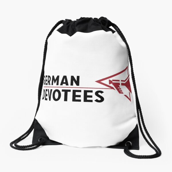 German devotees I. Drawstring Bag