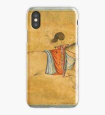 A tethered stallion, attributable to Govardhan, Mughal, circa  iPhone Case/Skin