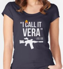 Jayne + Vera (white letters) Women's Fitted Scoop T-Shirt