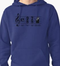 Wibbly-wobbly timey-wimey Pullover Hoodie