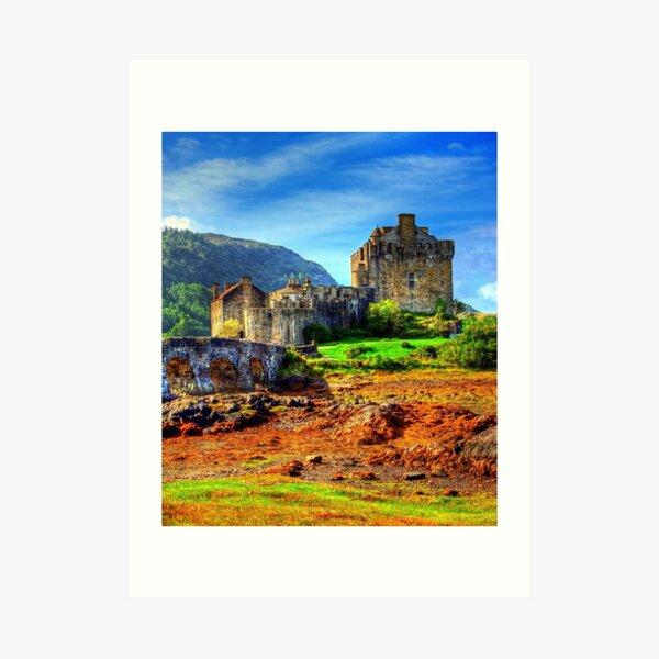 Eilean Donnan Castle Art Print