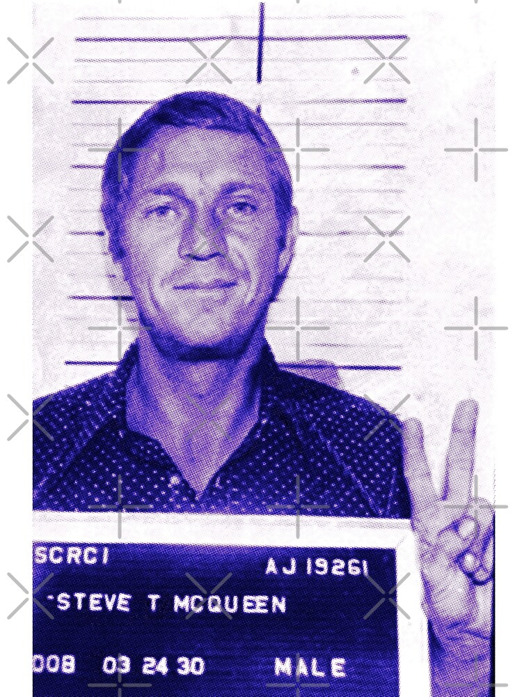Mugshot Collection - Steve mcQueen by Ximoc