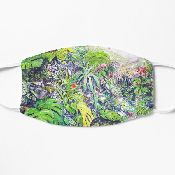 into the wild Flat Mask