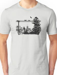 Brisbane Evening Skyline T-Shirt