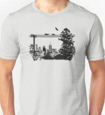 Brisbane Evening Skyline Unisex T-Shirt