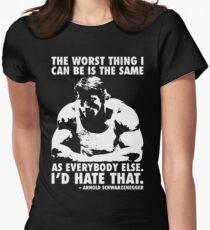 The Worst Thing Women's Fitted T-Shirt