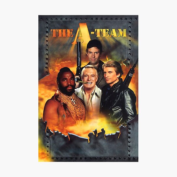 The A Team Photographic Print