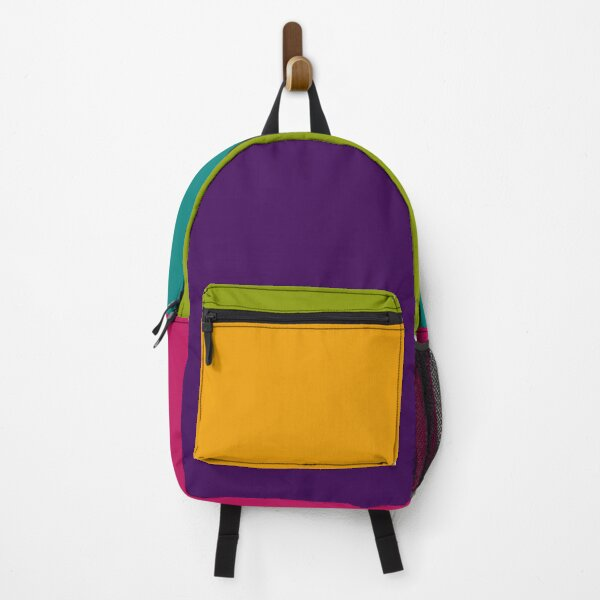Funky colorful backpack Backpack