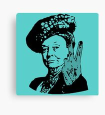 If you may Your Majesty Canvas Print
