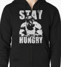 Stay Hungry Zipped Hoodie