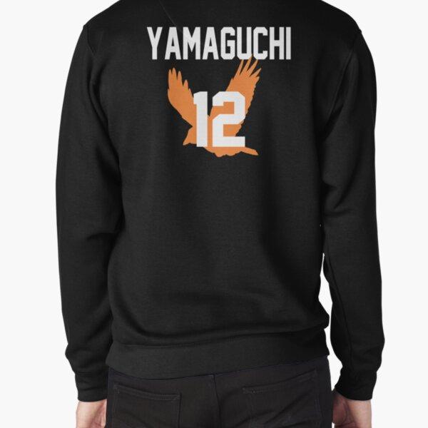 Haikyuu!! Jersey Yamaguchi Number 12 (Karasuno) Pullover Sweatshirt